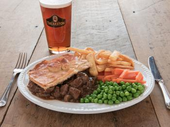 Good old Steak and Kidney Pie