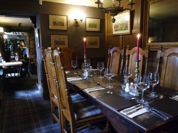 Oak Room looking towards table 14