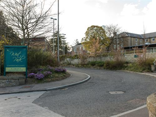 West Park Campus and Conference Centre Entrance