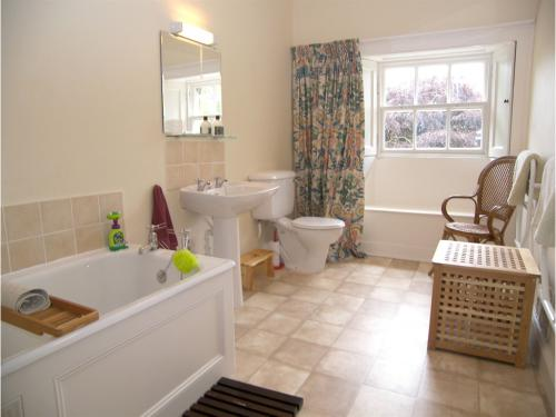 Family bathroom - there are also a smaller bathroom and a modern shower room, all with WCs