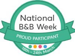 National B&B Week 18th- 24th March 2019