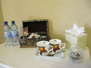 All of our rooms are supplied with only the top branded complimentary tea, coffee, fruit teas, hot chocolate and biscuits.
