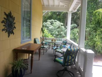 Back porch area