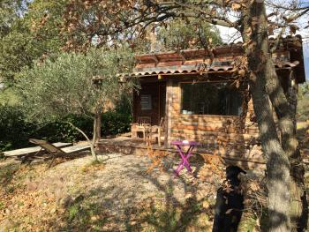 Cabine-Confort-Salle de bain Privée-Vue sur Jardin-Cabane au fond du jardin