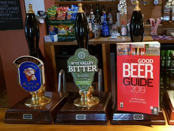 We feature in the Camra's Good Beer Guide 2019