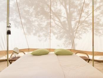 Tente-Famille-Salle de bain Commune-Tente 29m²