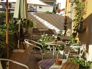 Posada la Rivera de Escalante Fachada sur y terraza