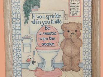 Count and Crossstitch, large shared bathroom