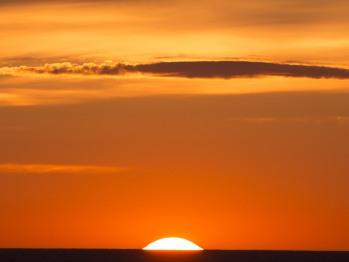 Sun Rise Seen At The Inn
