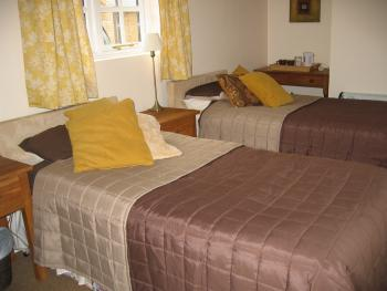 Ground Floor En-Suite Twin room with disabled access and wet room