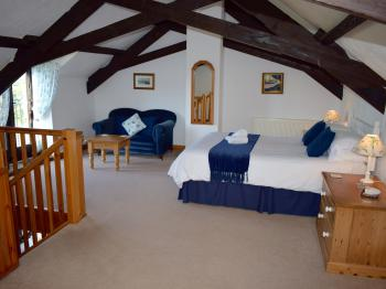 The Bedroom in Clematis Cottage