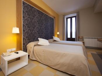 Doble con dos camas-Baño con ducha-Terraza-104