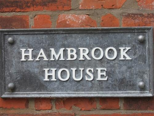 Hambrook House sign