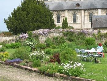 Jardin maison d'hôtes Les Hostises