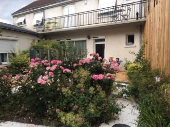Vue balcon Gites Agnès Sorel et RDC Charles VII