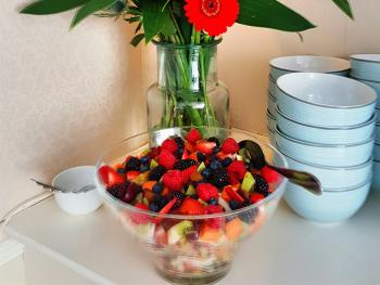 Fresh Fruit Salad - Breakfast Buffet
