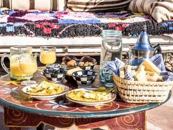 Un petit déjeuner à Dar Tafantant