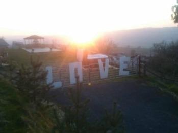 Glamping Sunset