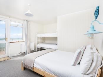 Family En-suite - with Beach-facing Balcony
