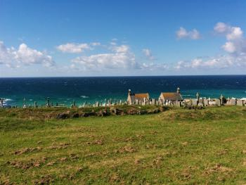 View over Barnoon and Porthmeor