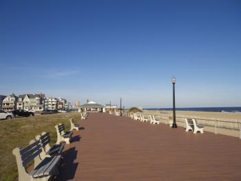 Short 10 Minute Board-Walk to Asbury Park