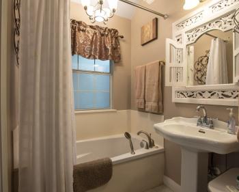 Blue Heron Bathroom