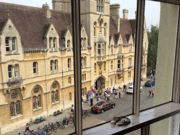 View of Balliol College from Deluxe Rooms
