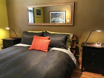 Apartment - master bedroom