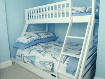 Bedroom 2 - Double bed with Single bunk bed.