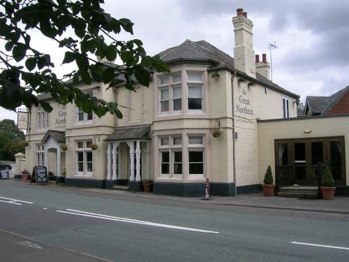 View of the main pub