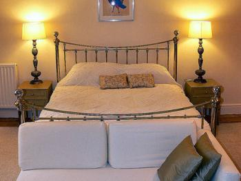 The luxury super king size bed has 1,800  pocket springs along with down duvet  and pillows - its like sleeping on a cloud.