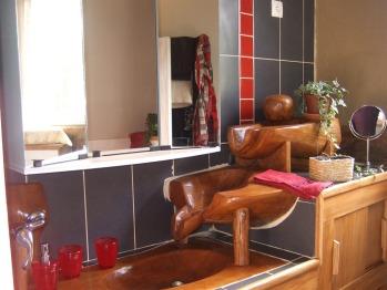 La salle de bain de la Chambre Guillaume le Conquérant