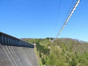 Hängebrücke - Rappbodetalsperre
