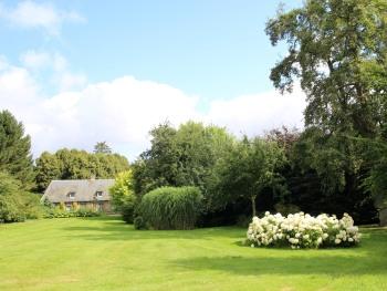 Le jardin et le Manoir