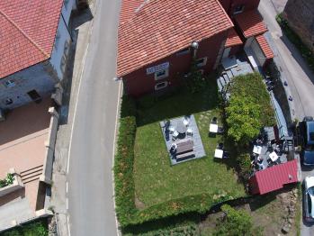 Vista aérea del jardín - La Posada de Ojébar