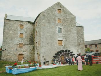The Old Mill located beside the property