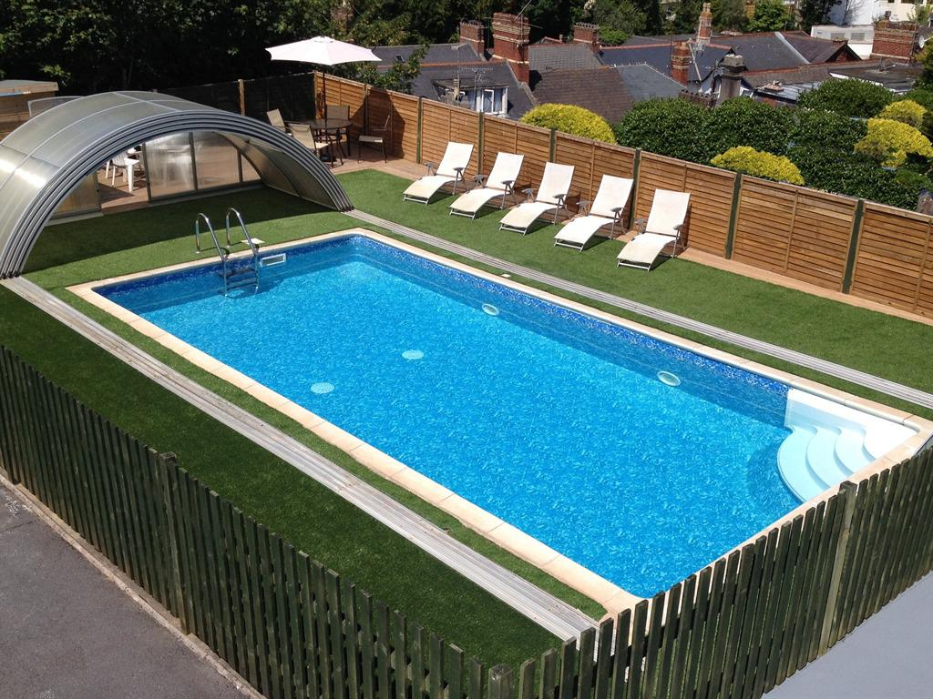 Heated pool available 9am -9pm daily