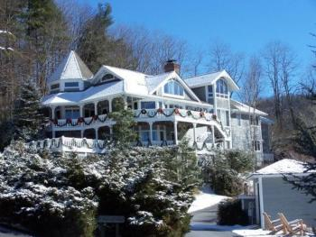 Snowy Day at Innisfree Inn
