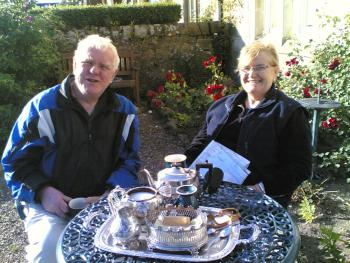 Tea and shortbread for two at Carlton Seamill