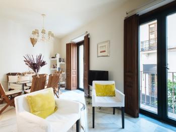 Apartamento-CONTEROS 1º izq 6PAX-Premium-Baño con ducha-Vista a la Calle - Tarifa Base
