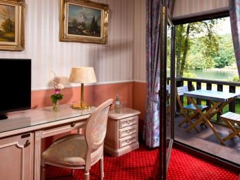 Balkon einer Suite (nur ein Mal vorhanden)