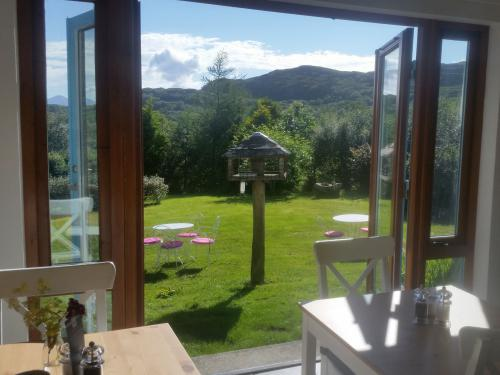 Applecross bed and breakfast - breakfast room view