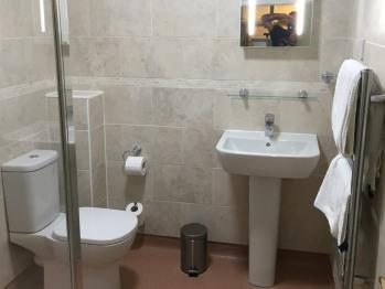 Our Double Room Bathroom