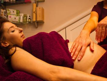 Pregnancy Massage available at The Garden Room