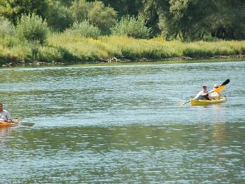 Kanusport auf der Mosel