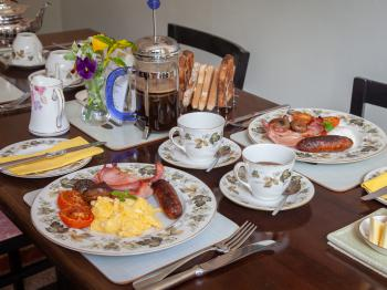 Delicious Breakfasts cooked to order