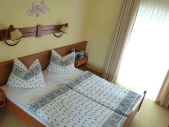 Ferienwohnung-Komfort-Ensuite Dusche-Balkon-Gartenblick