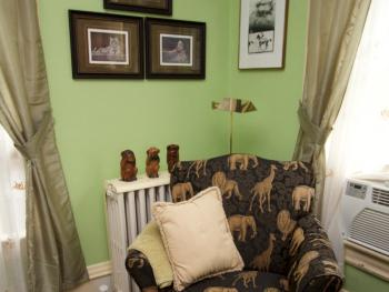Reading Corner, Queen Animal room
