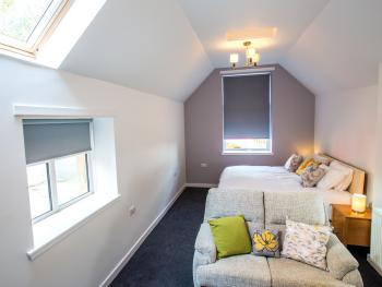 The easy access suite can be accessed directly from the car park with level access to all ground floor rooms