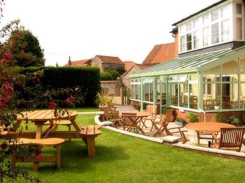 The Lawns rear garden